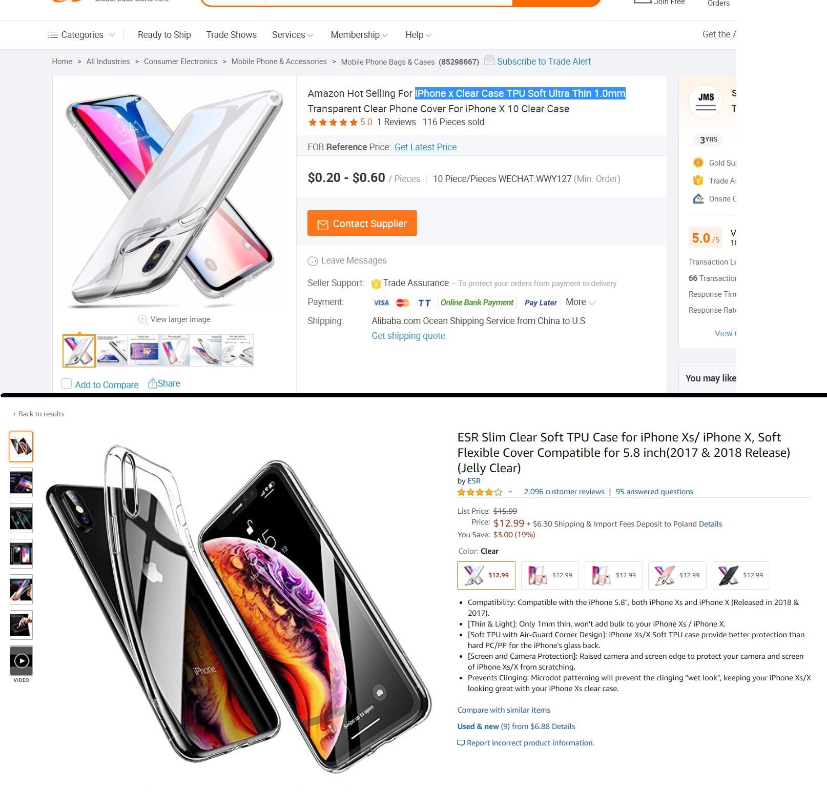 Alibaba Amazon
